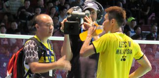 Hopefully Hendrawan (left) could strengthen and take Lee Chong Wei's game to new heights.