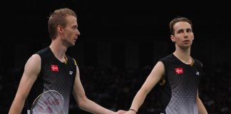 Wish Mathias Boe and Carsten Mogensen good luck going into 2015 Baku semi-finals.