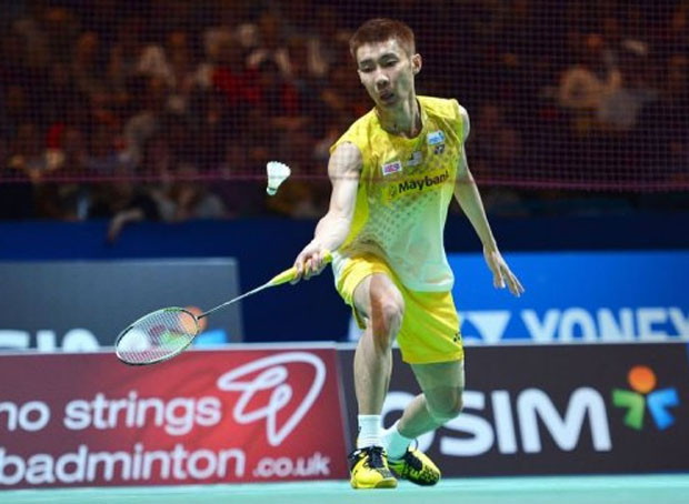 Lee Chong Wei survives scare in Canada Open men's singles 3rd round.