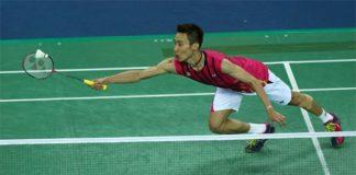 Wishing Lee Chong Wei luck in the Canada Open final.