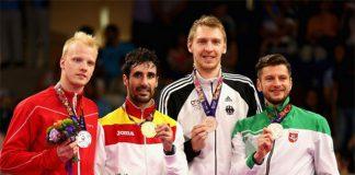 Emil Holst, Pablo Abian, Dieter Domke and Kestutis Navickas (from left). (Photo: Getty Images)