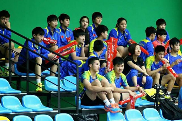 This group of young Chinese shuttlers have given the chance to defend their Asia Junior Championships mixed team title on Wednesday. (photo: Granular)