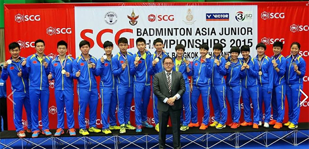 China is the 2015 Asia Junior mixed team championships. (photo: Granular)