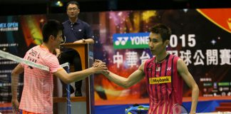 Lee Chong Wei's defeat to Chen Long (left) could be a good thing as he gets ready for the World Championships. (photo: Reuters)