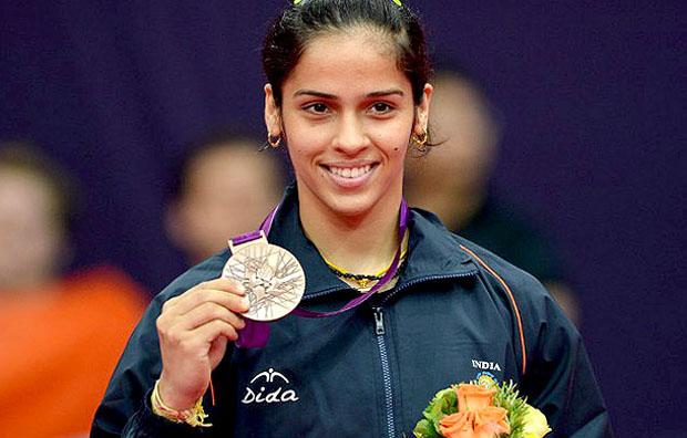 India's badminton sweetheart Saina Nehwal.