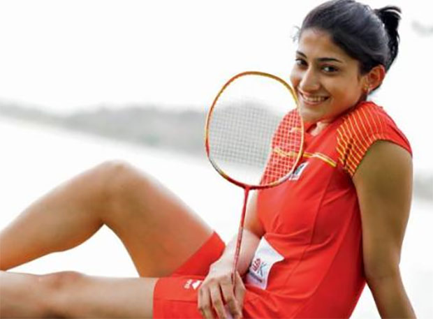 Ashwini Ponnappa is the women's doubles ace of India.