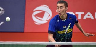 Best of luck to Lee Chong Wei in round 3 of World Championships.(photo:Reuters)