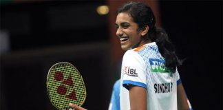 PV Sindhu is the young and rising star of Indian badminton.
