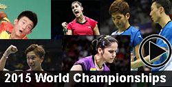 2015 World Championships badminton videos