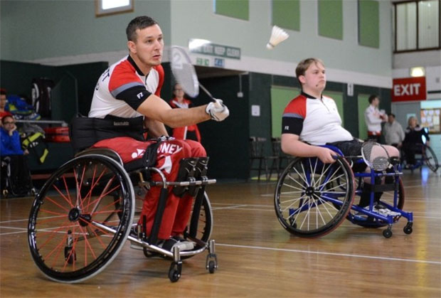 Wheelchair athletes such as David Follett (left) and Connor Dua-Harper deserve our applause and our attention. (photo: Exeter Express and Echo)