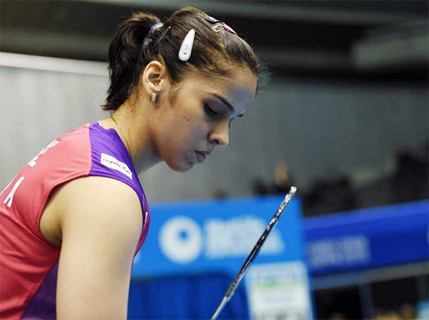 Saina Nehwal should be more consistent in the Superseries. (photo: AFP)