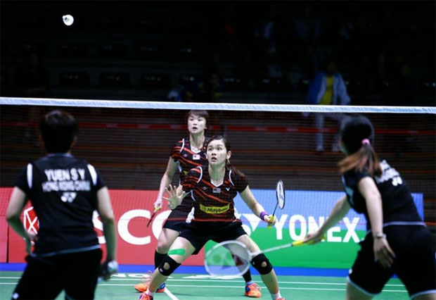 Vivian Hoo/Woon Khe Wei need to work hard to solidify their BWF rankings. (photo: Granular)