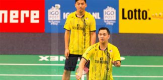 Koo Kien Keat/Tan Boon Heong rally from set down to cruise into Dutch Open semis. (photo: René Lagerwaard)