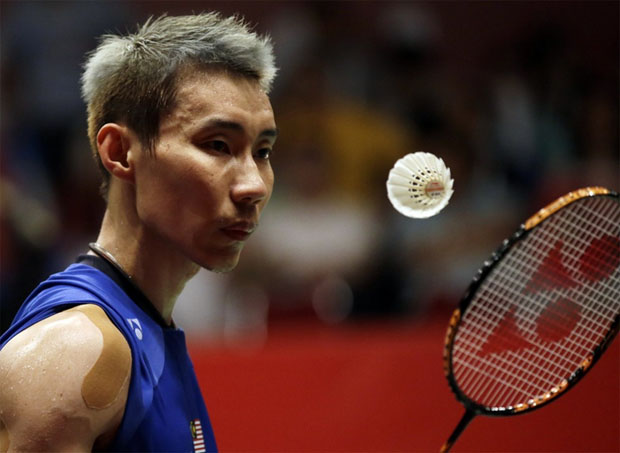 Lee Chong Wei plays his Denmark Open 1st round match with exceptional skill, and uncanny ability.