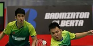 Way to go Lim Khim Wah (left) and Hoon Thien How!