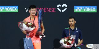 2015 has been a strong year for Chen Long with seven titles under his belt so far. (photo: AFP)