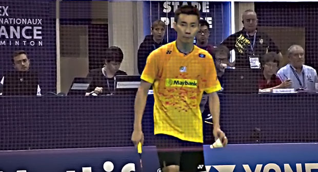 Lee Chong Wei should watch out for Wang Zhengming in the semi-finals.