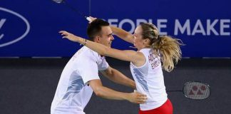 Chris and Gabby Adcock are one of the sweetest couple in Badminton.