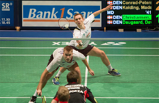 Mads Conrad-Petersen/Mads Pieler Kolding of Denmark are doing really well in recent tournaments.
