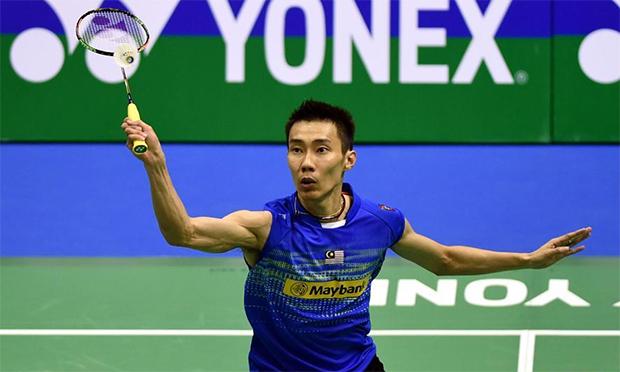 Lee Chong Wei defeats Ng Ka Long in Hong Kong Open semi-finals. (photo: Xinhua)