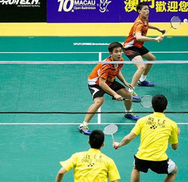 Tan Kian Meng/Low Juan Shen are getting pretty solid in men's doubles.