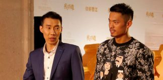 Perhaps it's good time for both Lee Chong Wei and Lin Dan to take a short break before the busy 2016 season. (photo: Xinhua)