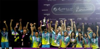 Congratulations to Muar City for winning their second consecutive Purple League title. (photo: Purple League)