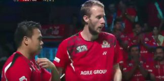Both Carsten Mogensen and Markis Kido are key players for Hyderabad Hunters.
