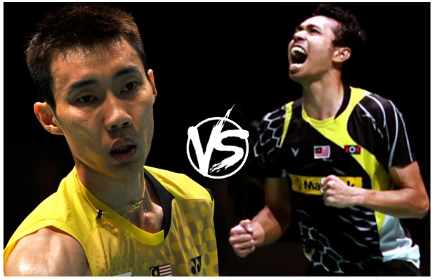 No matter who wins, it's surely encouraging to see Lee Chong Wei plays Iskandar Zulkarnain in the finals.