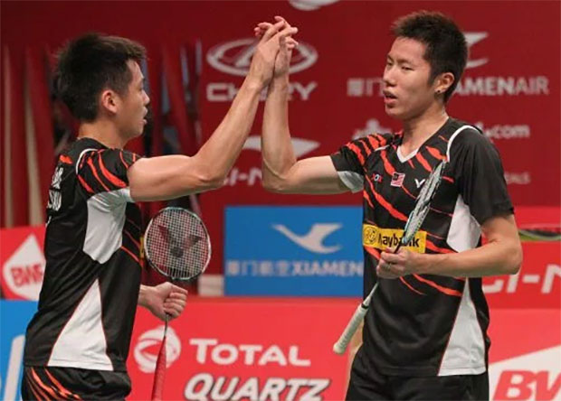 Goh V Shem/Tan Wee Kiong able to beat any men's pair if they show great stability in their games.