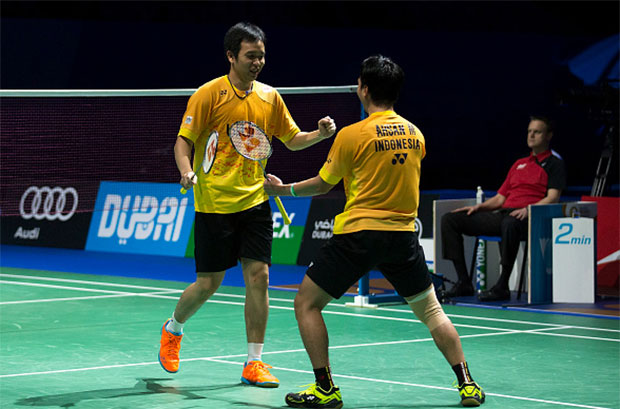 Mohammad Ahsan & Hendra Setiawan have a busy tournament schedule in recent two weeks.