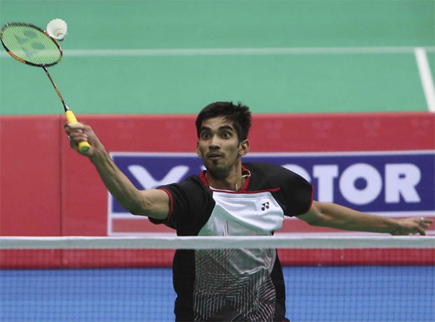 Kidambi Srikanth and his teammates have formed a formidable India men's badminton team.