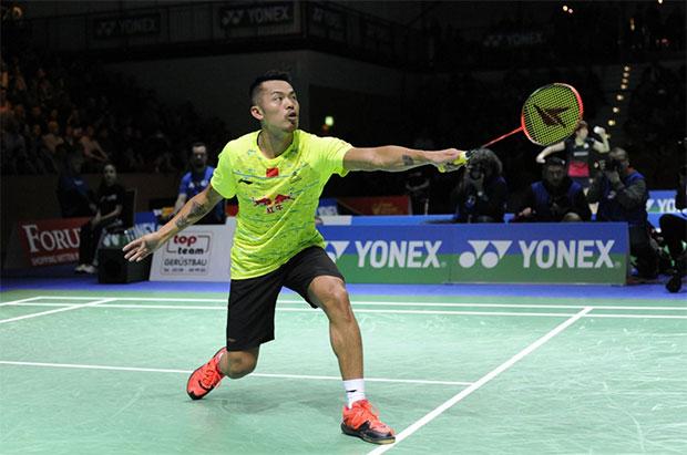 Lin Dan has a 3-1 career records against Chou Tien Chen. (photo: German Open)