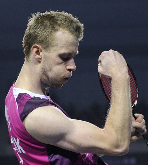 Badminton fans around the world will continue praying for Carsten Mogensen's good health and speedy recovery. (photo: AFP)