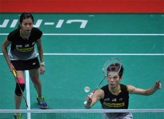 Chan Peng Soon and Goh Liu Ying are bidding for their first title of 2016 at New Zealand Open. (photo: GettyImages)