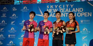 Congratulations to Chan Peng Soon/Goh Liu Ying on their New Zealand Open win. (photo: New Zealand Open)