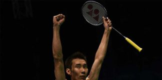 Let's go Lee Chong Wei! (photo: AFP)