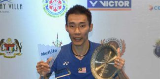 Congratulations to Lee Chong Wei for his 11th Malaysia Open title! (photo: GettyImages)