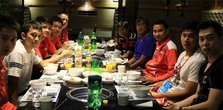 Indonesia's Thomas Cup team. (photo: BadmintonIndonesia)