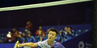 Chen Long leads China to 5-0 victory in the 2016 Thomas Cup opener. (photo: AFP)