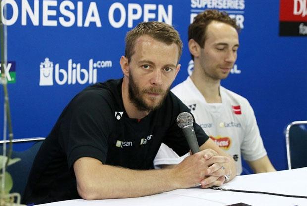 Wish Carsten Mogensen and Mathias Boe good luck, and good health! (photo: PBSI)