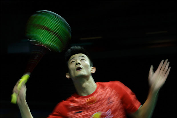 The timing and the reason of Chen Long's withdrawal from Indonesia Open very similar to Lin Dan's withdrawal from Asia Championships 4 years ago. (photo: Getty)