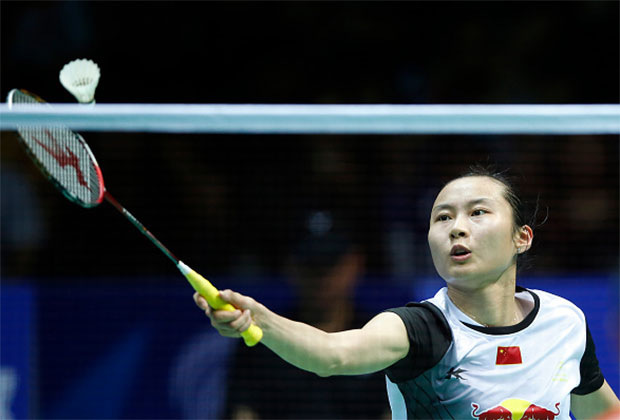 Wang Yihan has to show her worth through Indonesia Open before China decide who to send to the Rio Olympics. (photo: Getty)
