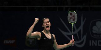 Carolina Marin through to semis at the 2016 Indonesia Open. (photo: GettyImages)