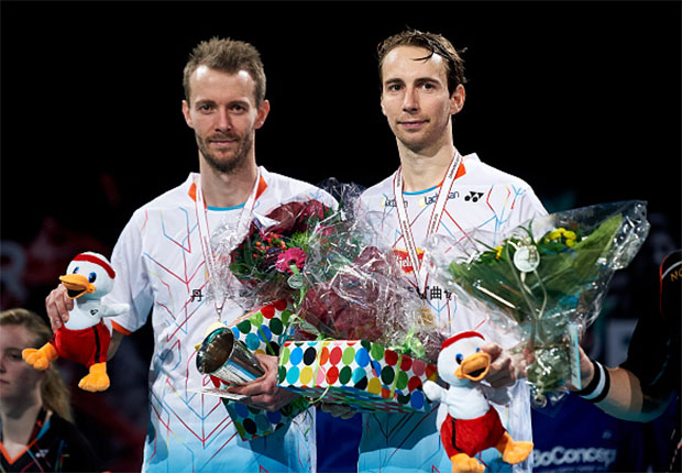 Congratulations to Carsten Mogensen & Mathias Boefor being selected to play at the Rio Olympics. (photo: GettyImages)