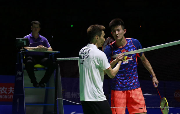 Lee Chong Wei beats Chen Long to win the 2015 China Open title.