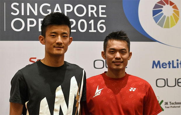 Chen Long & Lin Dan are busy preparing for the Olympics. (photo: GettyImages)