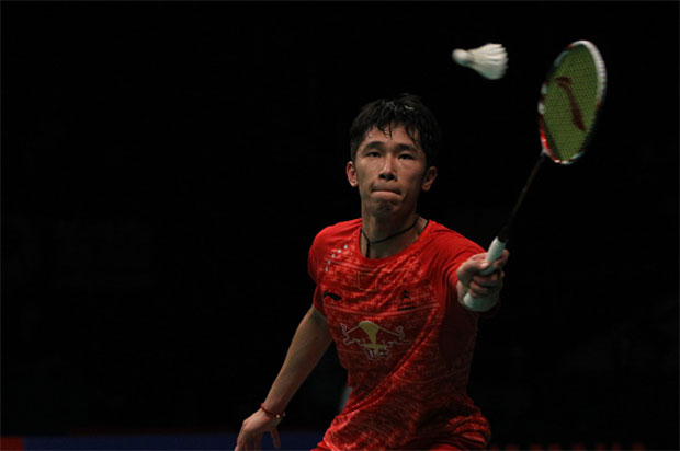 Tian Houwei is currently the World No. 6 in men's singles. (photo: GettyImages)