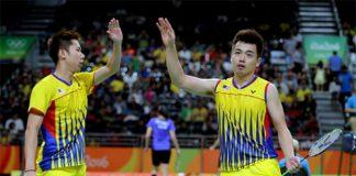 Rio: Goh V Shem/Tan Wee Kiong through, Ahsan/Setiawan eliminated