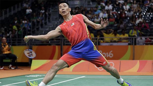 Lee Chong Wei will play his quarterfinal match next Wednesday. (photo: AFP)